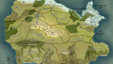 Eye of the Snake: Map of the Twelve Kingdoms