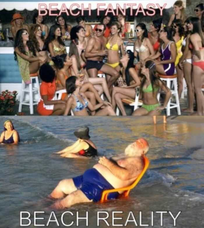 Writing: Fantasy vs. reality